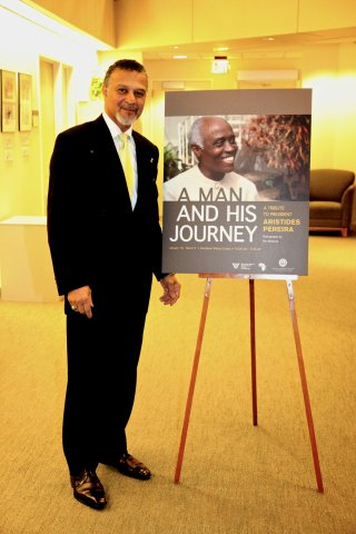 President Aristides Pereira Photo Exhibit 2012